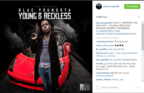 CMG, Blac Youngsta, Young & Reckless Mixtape