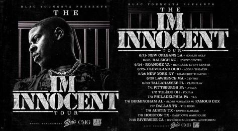 Blac Youngsta Innocent Tour