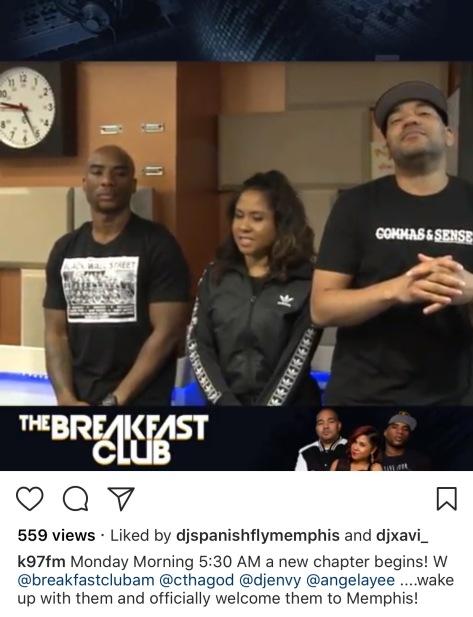 Memphis The Breakfast Club Morning Show K97fm