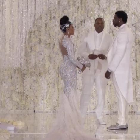 Gucci Mane Keyshia Ka'oir wedding