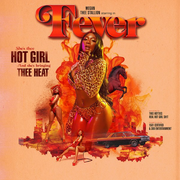 Female Rapper Posing In Cheetah Print Two Piece For Album Cover Fever